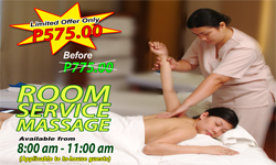 Room Service Massage